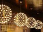 铭星照明布艺灯新古典中式客厅餐厅中庭吊灯 餐吊灯 家庭吊灯