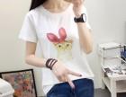 河北省霸州市工厂直销中年女装短袖莫代尔印花T恤衫早夜市地摊