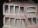 大量批发定做 铝合金型材方管 6061卫生级铝管 异型铝方管加工