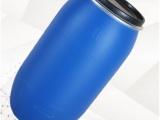 大同塑料桶厂家 100升塑料桶 化工桶 带卡子铁箍桶