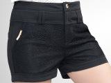 加肥加大码胖mm夏季新款女装蕾丝短裤女夏韩版休闲女裤热裤K321