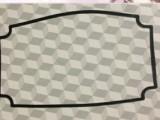供应中山电源盒方形密封垫片 东莞方形密封垫片