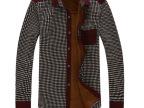 男式保暖衬衫 男式加绒大码保暖衬衫 工厂直批加厚加绒保暖衬衫