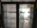 出售二手切肉片机器还有展示柜冰箱