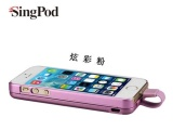 供应厂家直销祥中宝iPhone5/5s专用背夹移动电源是旅行必备