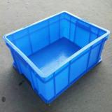 经销供应 蓝色防静电塑料周转箱 通用汽车460宽式塑料周转箱 批发