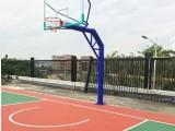 深圳南山前海地埋/移动篮球架,户外健身路径器材 球场围网工程