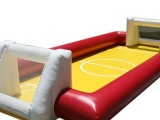 水上排球场 室内充气足球场 充气足球场 趣味足球门 运动会道具