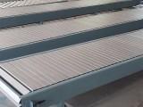 山东不锈钢链板输送机 食品药品物流快递流水线传送机