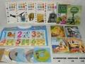 65元出售儿童童话故事、识字挂图、童谣等图书、光盘