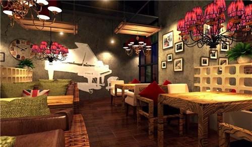 沙坪坝大学城餐饮装修设计 餐厅饭店装潢设计 重庆爱港装饰