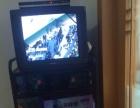 转让家中正在使用的飞利浦21寸彩电、电视机顶盒、电视柜。(实物图