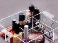 亚克力有机玻璃指甲油收纳盒口红架化妆品架订做