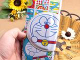 哆啦A梦 机器猫白脸卡通2折中长款钱包 时尚钱夹 人气爆款