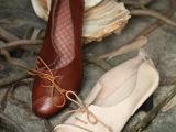 复古真皮手工缝制女鞋批发 特色女鞋厂家直销 个性单鞋批发