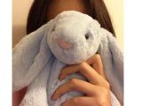 可爱邦尼兔子公仔 薰衣草长耳朵小兔毛绒玩具布娃娃 送女生日礼物