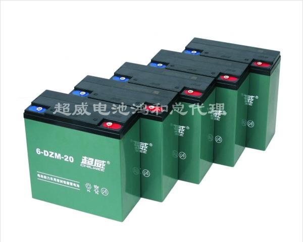 电动车 超威电池图片