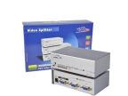 EKL-92 2口VGA分配器带音频VGA分屏器VGA分频器电脑一分二250MH