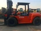 上海全市提供二手10吨合力叉车门架4米高度自动挡车龄一年时间