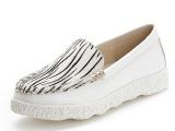 2014春季新款女鞋真皮平底鞋马毛性感休闲单鞋低帮鞋彩色爆款鞋