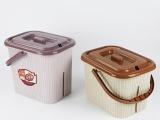 厂家直销 1003大号方形茶渣桶 塑料家