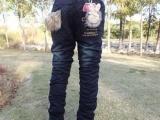 供应中童韩版女童牛仔棉裤/童装牛仔夹裤/