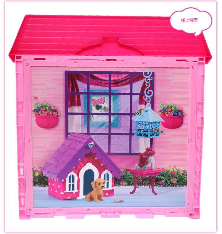 芭比房子 芭比娃娃玩具