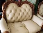 顺义区真皮沙发翻新 欧式沙发换面 高档餐椅换皮换