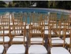 《婚宴竹节椅,高端交叉靠背椅,各种桌椅沙发出租》