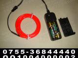 EL冷光线 3V电池盒  3米  发光装饰 汽车装饰 优质发光线