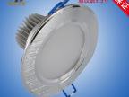 银色筒灯套件 3.5寸 LED筒灯外壳 9W暗装防雾筒灯 灯具配件厂家