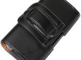 4.7寸苹果iPhone6手机壳 经典横式腰挂手机套 平纹保护皮