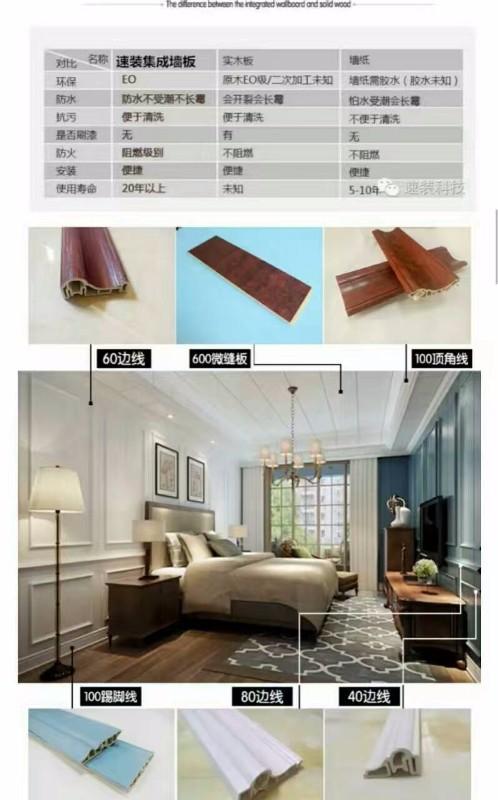 上海速装集成墙板 集成墙饰 全屋整装厂家集成墙面