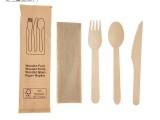 一次性木質竹制環保餐具,筷子,勺子,叉子