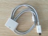 批发新款iPhone4s转microV8音频转接线手机数据充电线