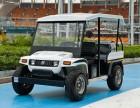 开放式厂区巡逻电动车 电动代步车