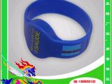 RFID硅胶手腕带手表卡,NFC开环腕带桑拿手表卡