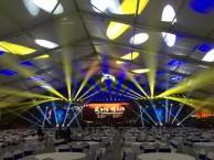 高明租赁舞台搭建音响灯光珩架背景铝架帐篷3 3帐篷会议桌椅