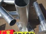 四川省南充市护栏板喷塑方立柱高清图 乡村安保护栏板立柱价格