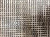 供应PVC透明文件袋 箱包 帐篷 300D夹网布