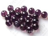 厂家专业提供12mm紫罗兰水晶光珠 sj