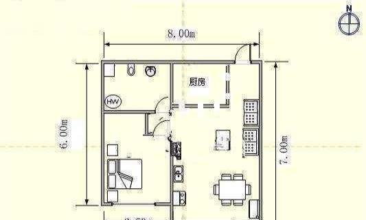 大连房产 大连二手房 绿洲半岛北岸《南向1室 精装小户型》拎包入住