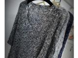 秋冬新款女装女式针织衫韩版纯色V领宽松蝙蝠型长袖套头毛衣女潮