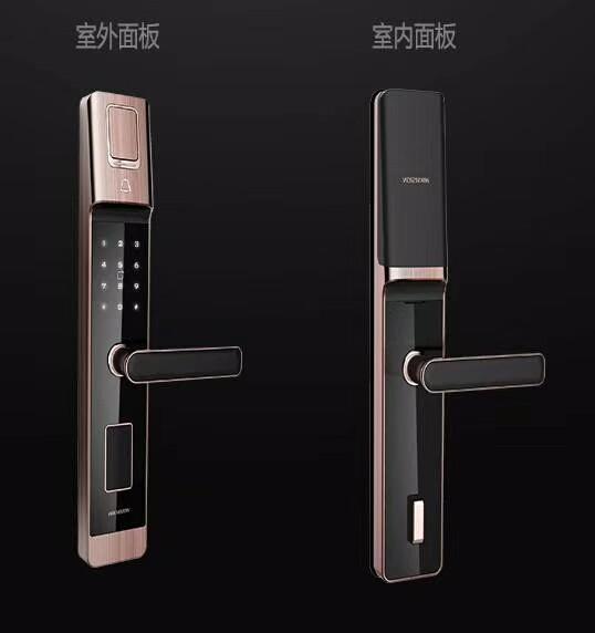 指纹锁安防品牌海康威视