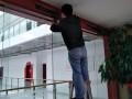 深圳指纹考勤闭路监控电动玻璃门安装维修