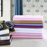 供应全棉多色纯色美容床单条纹床单厂家直销