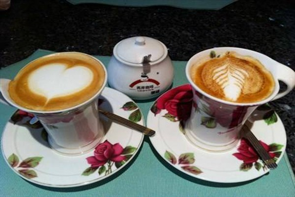 两岸咖啡欧式的拿铁 卡布其诺等浓缩咖啡