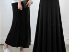 2014夏装新款 欧美纯色莫代尔半身裙长裙不规则大摆裙 修身显瘦
