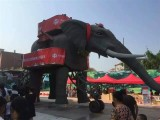 懷化機械大象出租出售 慶典巡游設備 機械大象出租