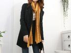 新款呢大衣批发供应韩版双排扣呢大衣女式秋冬外套一件代发1001B